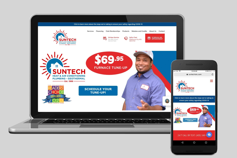 Suntech Website Example